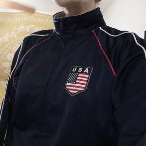 USA zip up (Brandy dupe)